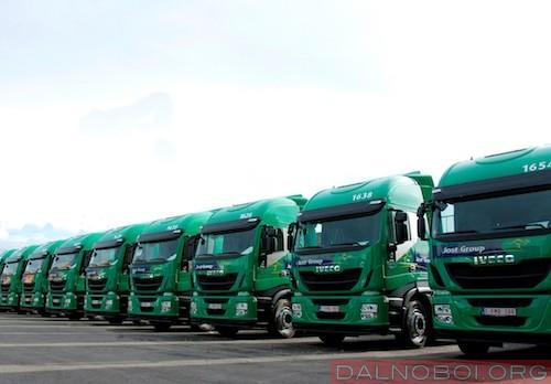 Jost Group IVECO fleet