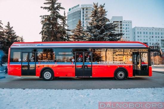 Электробус в Тюмени