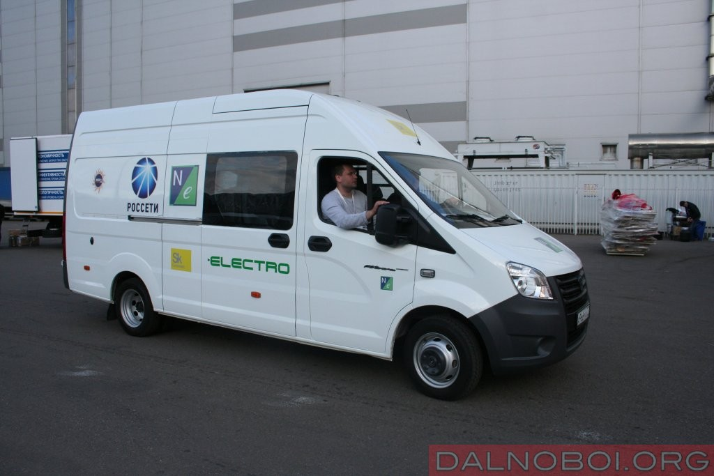 Грузопассажирский фургон «ГАЗель NEXT Electro» на аккумуляторных батареях