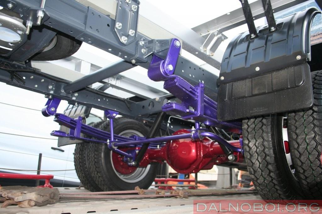 Усиленная подвеска «ГАЗель NEXT 4,6». Новые элементы выделены цветом
