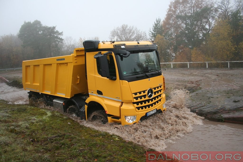 Дополнительные помощники незаменимы при движении по стройплощадкам и сложным участкам дорог.