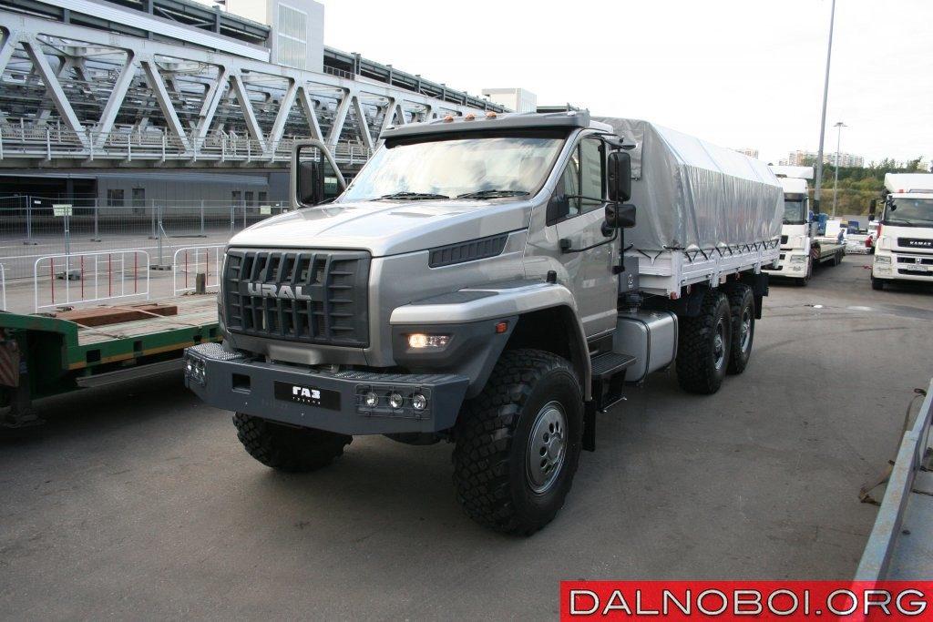 Праворульный «Урал NEXT» создан для покорения экспортных рынков.