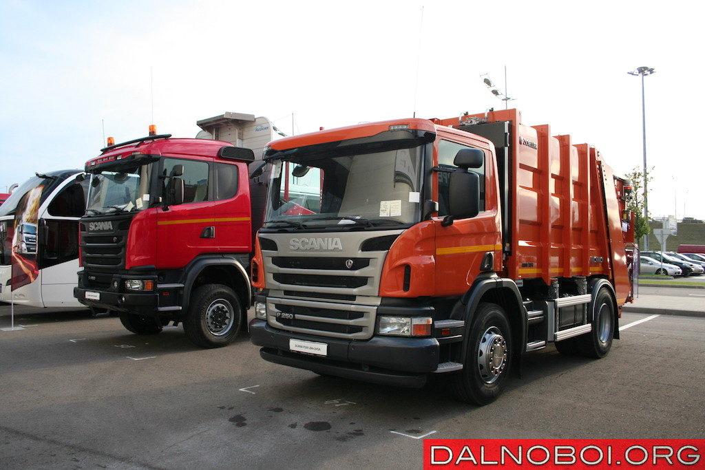 Мусоровоз Zoeller Mini XL-H объемом 12 м3 на шасси Scania P250 LB4x2HSA