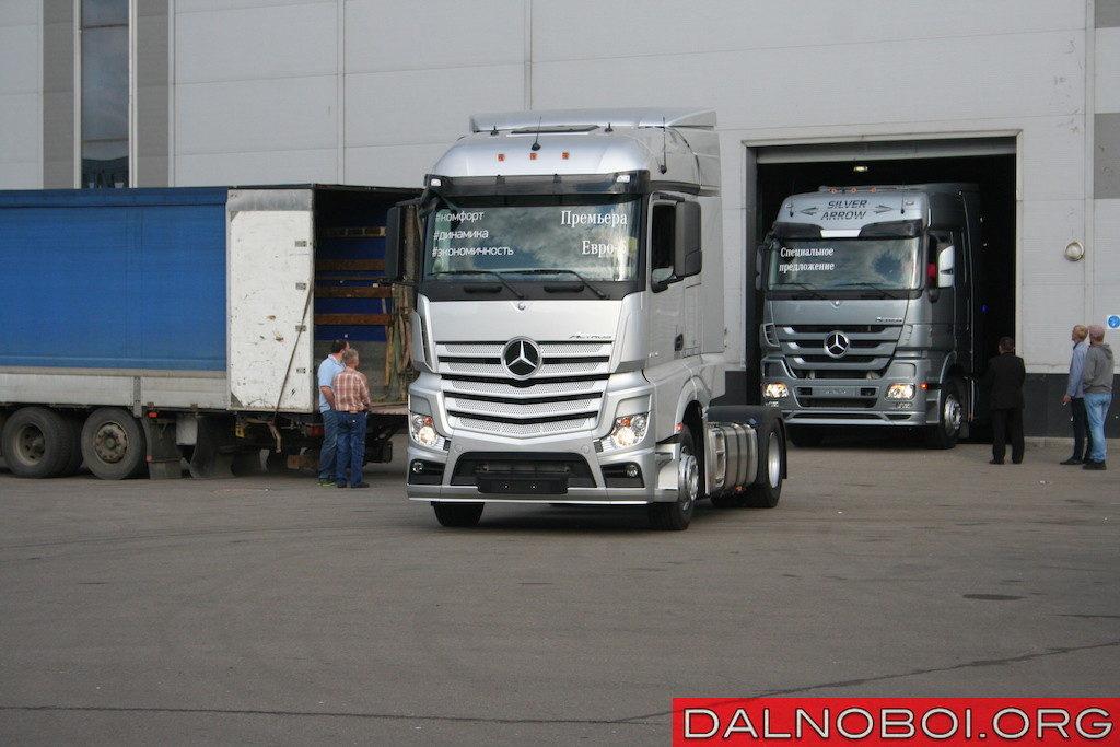 Mercedes-Benz Actros четвертого поколения с двигателем Евро-5 скоро начнут собирать на заводе в Набережных Челнах