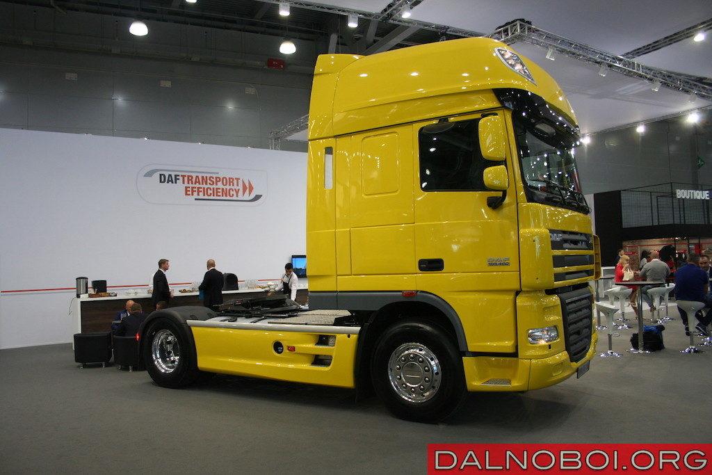 Седельный тягач DAF CF85.460 (6х4) Евро-5 часто используют в строительном секторе и при перевозке ГСМ в полуприцепах-цистернах