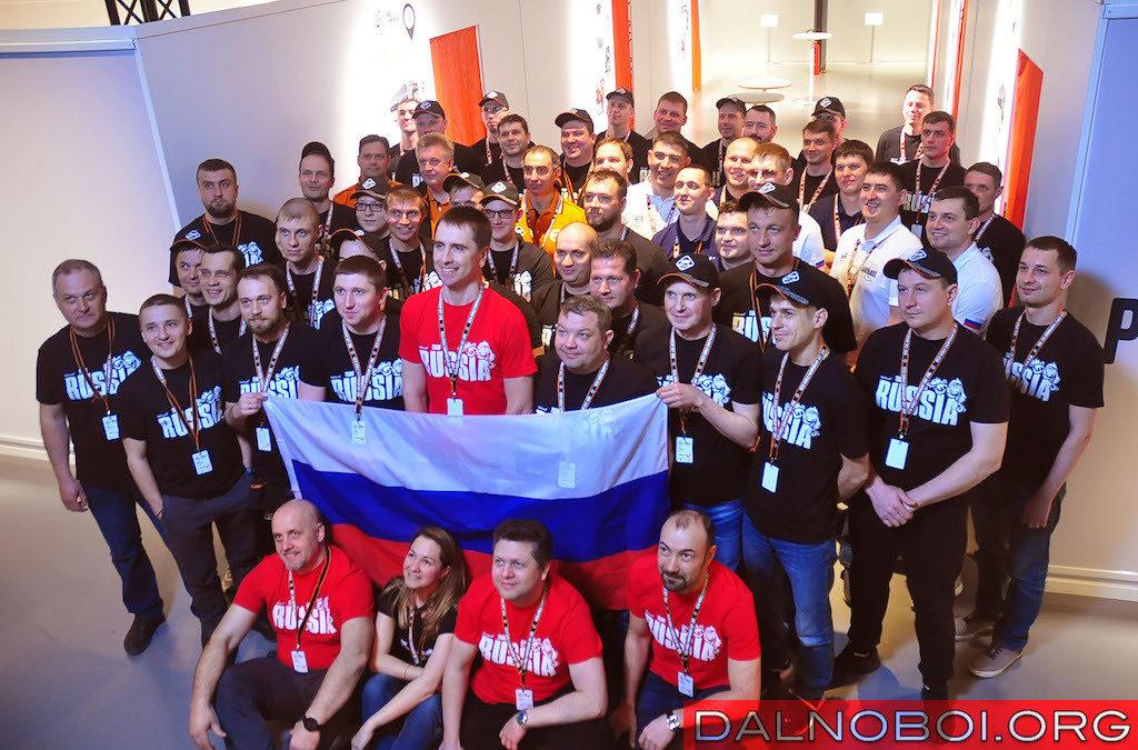 Российские команды и организаторы