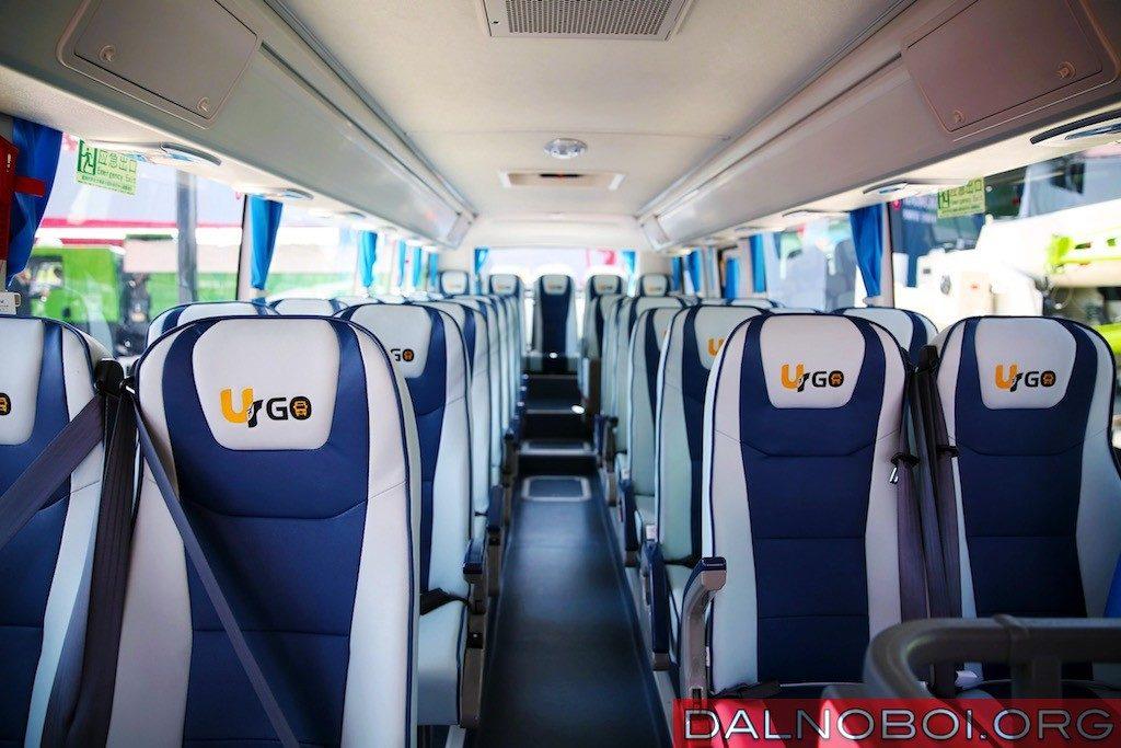 Комфортные кресла и забота о безопасности пассажиров