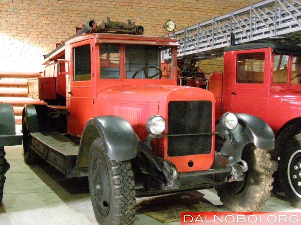Пожарный автомобиль ПМЗ-1