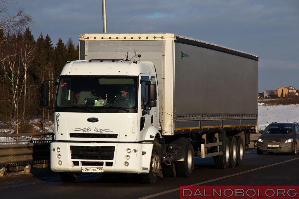 Ford Cargo 1830 первого поколения по-прежнему можно встретить на наших дорогах