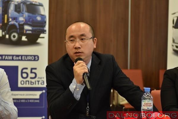 Генеральный директор ООО «ФАВ – Восточная Европа» господин Шэ Мин